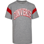 Converse Boys Asymmetrical Colorblock Tee