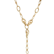 Panacea Bold Goldtone 22 in. Y Necklace