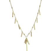 Panacea Goldtone 24 in. Barrel Chain Necklace