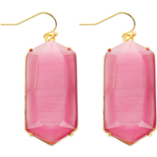 Panacea Cats Eye Rectangle Earrings