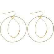 Panacea Cats Eye Organic Orbit Earrings