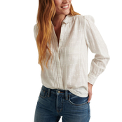Lucky Brand Devon Embroidered Shirt