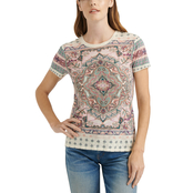 Lucky Brand Floral Paisley Tee