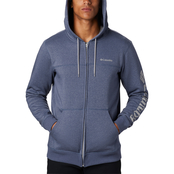 Columbia Logo Fleece Full Zip Hoodie