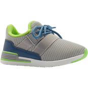 Oomphies Boys Reese Mesh Athletic Shoes