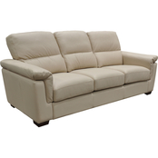 Omnia Italian Caprianna Top Grain Leather Sofa