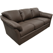 Omnia Italian Salerno Top Grain Leather Sofa