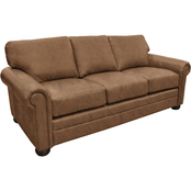 Omnia Italian Georgia Top Grain Leather Sofa