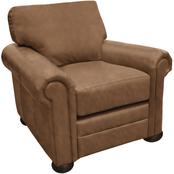 Omnia Italian Georgia Top Grain Leather Chair