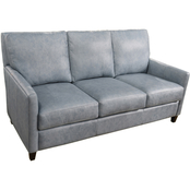 Omnia Italian Quincy Top Grain Leather Sofa