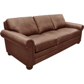 Omnia Italian Alpharetta Top Grain Leather Sofa