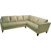 Omnia Italian Hartford Top Grain Leather Sectional Kit