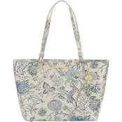 Brahmin Blue Jay Melbourne Medium Asher Tote