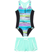 ZeroXposur Girls Zion Zenith 2 pc. Swimsuit Set