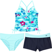 ZeroXposur Girls Haven on Earth 3 pc. Swimsuit Set