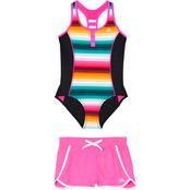 Zeroxposur Girls Over the Board Swimsuit 2 pc. Set