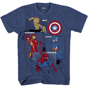 Marvel Little Boys Character Tee