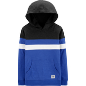 OshKosh B'gosh Little Boys Hooded Colorblock Pullover Top