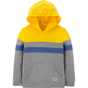 OshKosh B'gosh Little Boys Hooded Colorblock Pullover
