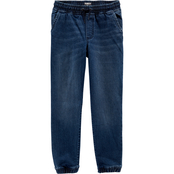 OshKosh B'gosh Little Boys Denim Jogger Pants