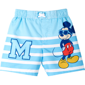 Disney Infant Boys Mickey Mouse Swimming Trunks
