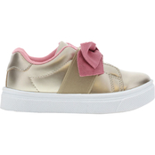 Oomphies Preschool Girls Lily Bow Slip On Shoes