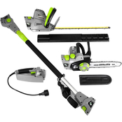Earthwise 4 in 1 Convertible Pole/Hedge Chain Saw