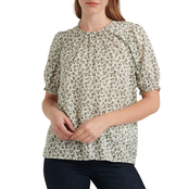 Lucky Brand Lauren Ruffle Top