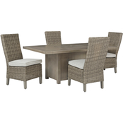 Signature Design by Ashley Windon Barn Outdoor 5 pc. Set with Side Chairs