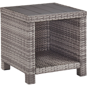 Signature Design by Ashley Salem Beach Outdoor  End Table