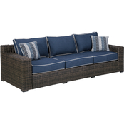Signature Design by Ashley Grasson Lane Outdoor Sofa with Cushions