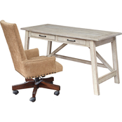 Signature Design by Ashley Carynhurst Home Office Desk and Chair