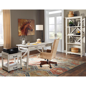 Signature Design by Ashley Carynhurst 4 pc. Home Office Set