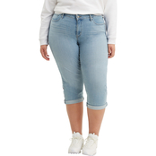 Levi's Plus Size Shaping Capris