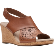 Clarks Lafley Joy Wedge Sandals