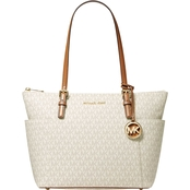 Michael Kors Jet Set East West Logo Tote