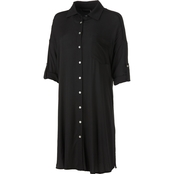 JW Button Front Woven Dress