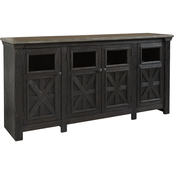 Signature Design by Ashley Tyler Creek Extra Large 74 in. TV Stand