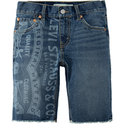 Levi's Boys 511 Slim Fit Denim Shorts
