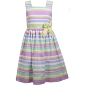 Bonnie Jean Toddler Girls Linen Dress