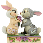 Jim Shore Disney Traditions Thumper and Blossom Figurine
