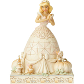 Jim Shore Disney Traditions White Woodland Cinderella