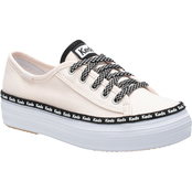 Keds Grade School Girls Triple Kick Sneakers