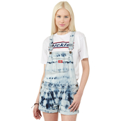 Dickies Girl Juniors Tie Dye Shortalls