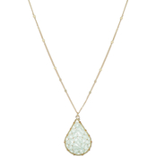 Panacea Mint Crystal Necklace