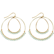 Panacea Double Hoop Earrings