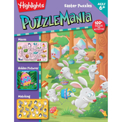 Easter Puzzles: Highlights Puzzlemania Activity Book