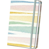 Thunder Bay Press Pastel Striped Linen Journal