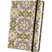 Simon & Schuster Patterned Satin Journal