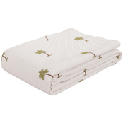 Realeza The Palm European Matelasse Coverlet